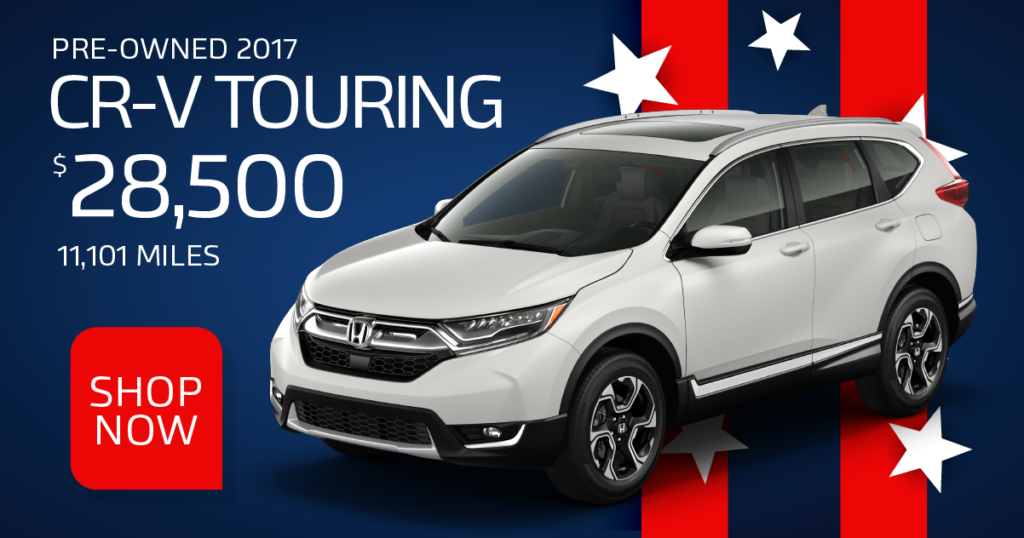 Certified Pre-Owned 2017 CR-V Touring