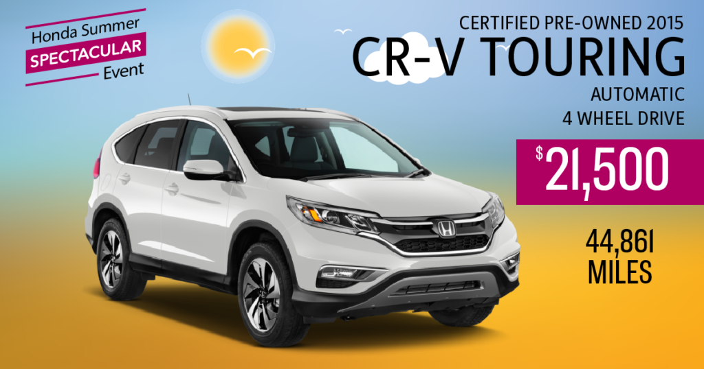 Certified Pre-Owned 2015 CR-V Touring