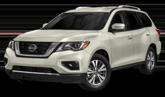 2019 Nissan Pathfinder in white