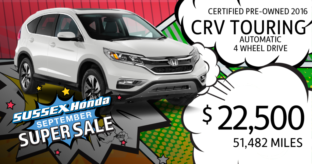 Certified Pre-Owned 2016 CR-V Touring