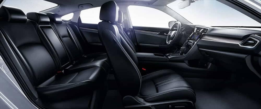 2019 Honda Civic Sedan seating