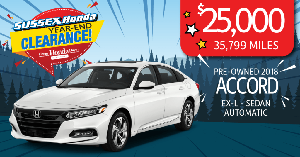 Certified Pre-Owned 2018 Accord EX-L