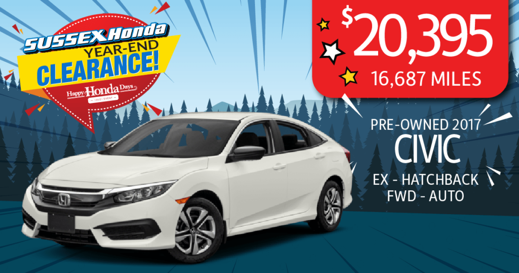 Certified Pre-Owned 2017 Civic EX