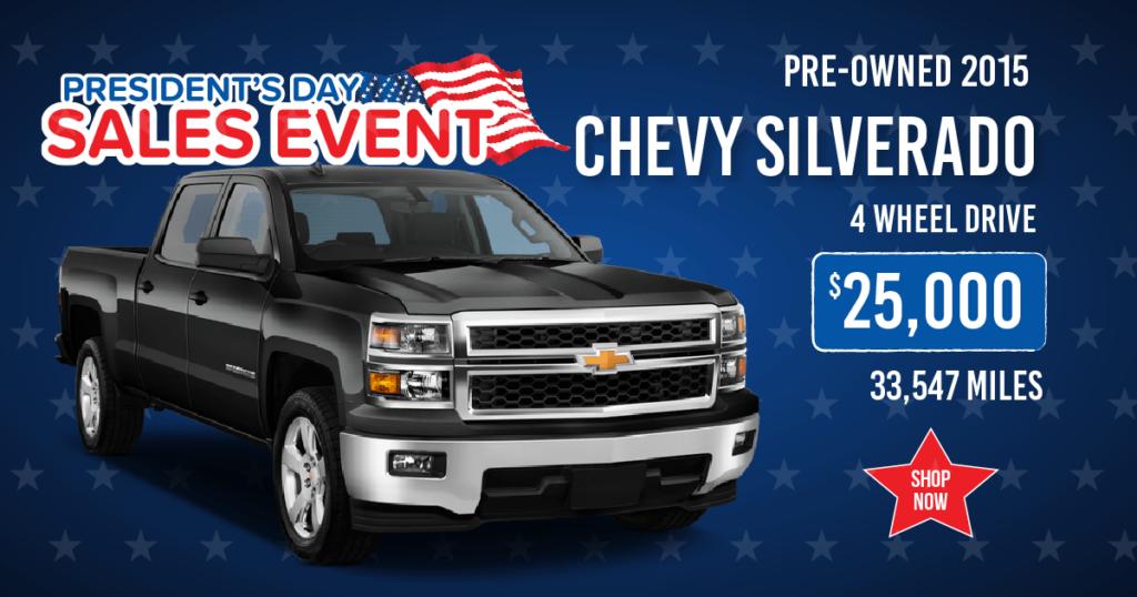 Pre-Owned 2015 Chevy Silverado 1500