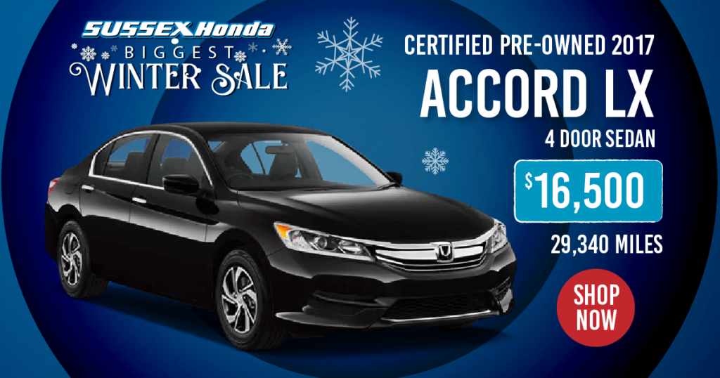 Certified Pre-Owned 2017 Accord LX