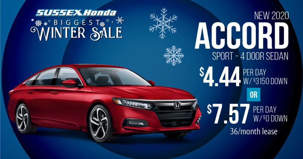 New 2020 Honda Accord Sport 1.5T