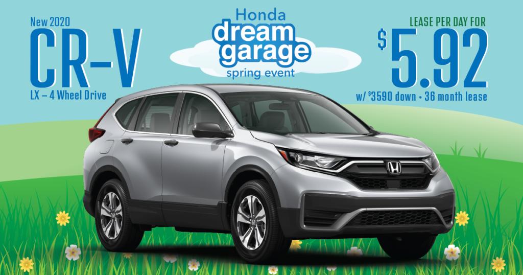 New 2020 Honda CR-V LX 4WD