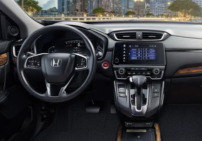 2020 Honda CR-V leather-trimmed interior