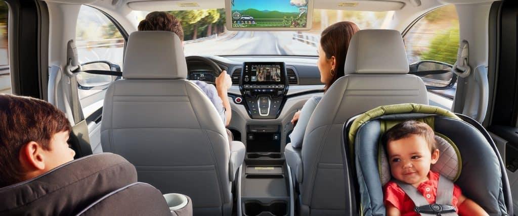 2020 Honda Odyssey interior family