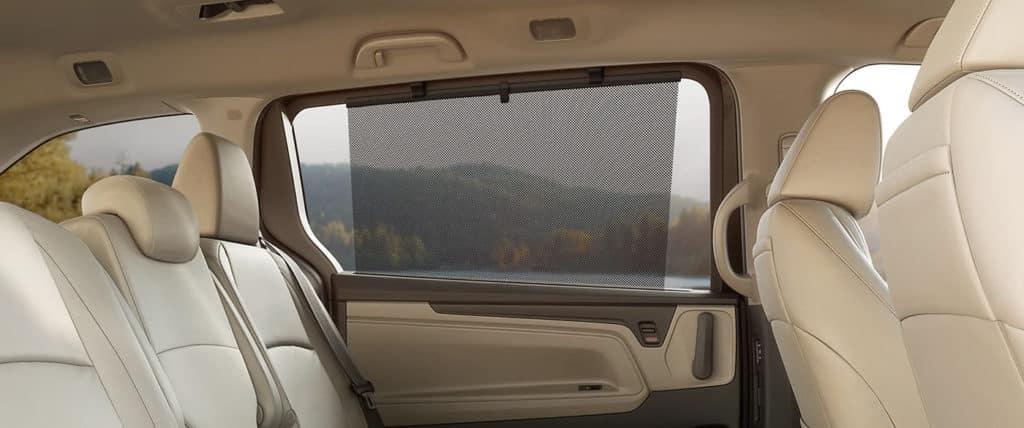 2020 Honda Odyssey interior seating