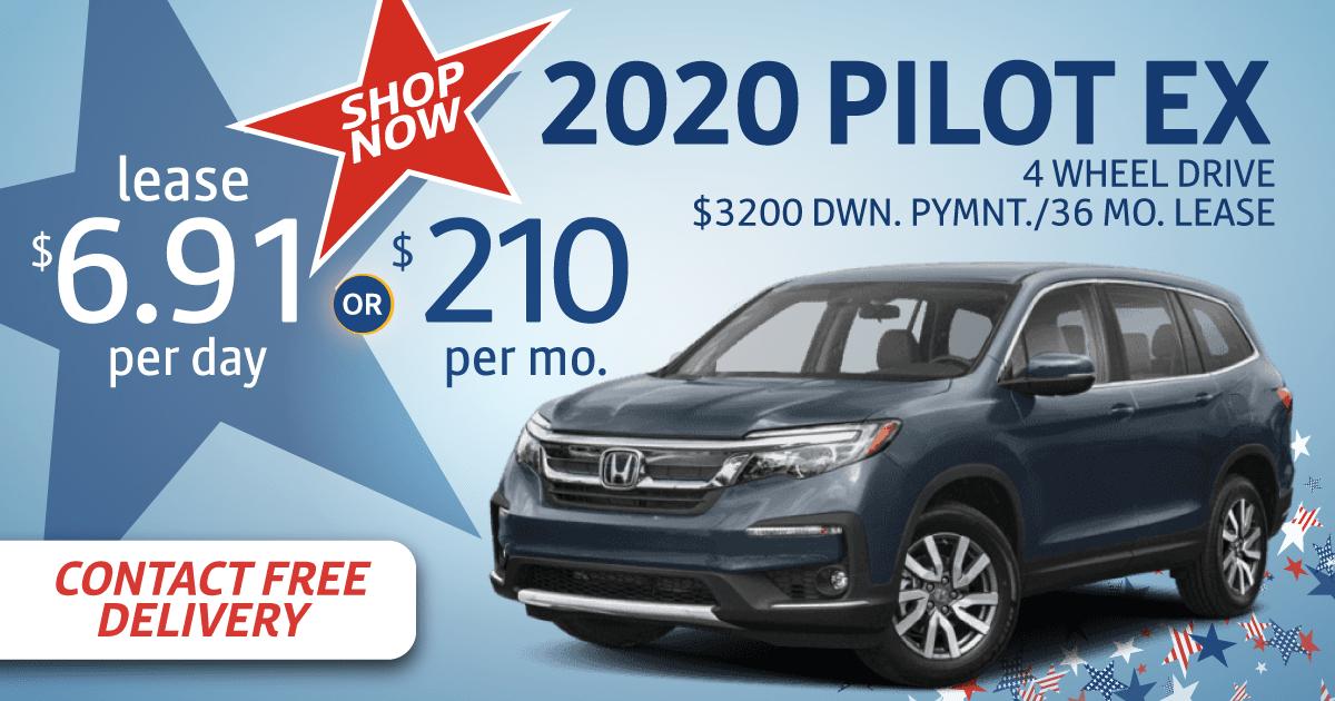 2020 Honda Pilot Ex Lease Specials Sussex Honda