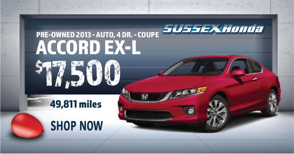 2013 Pre-Owned Honda Accord EX-L