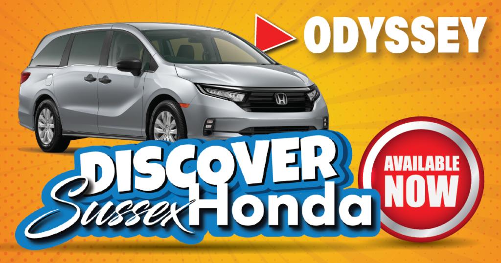 New 2022 Honda Odyssey
