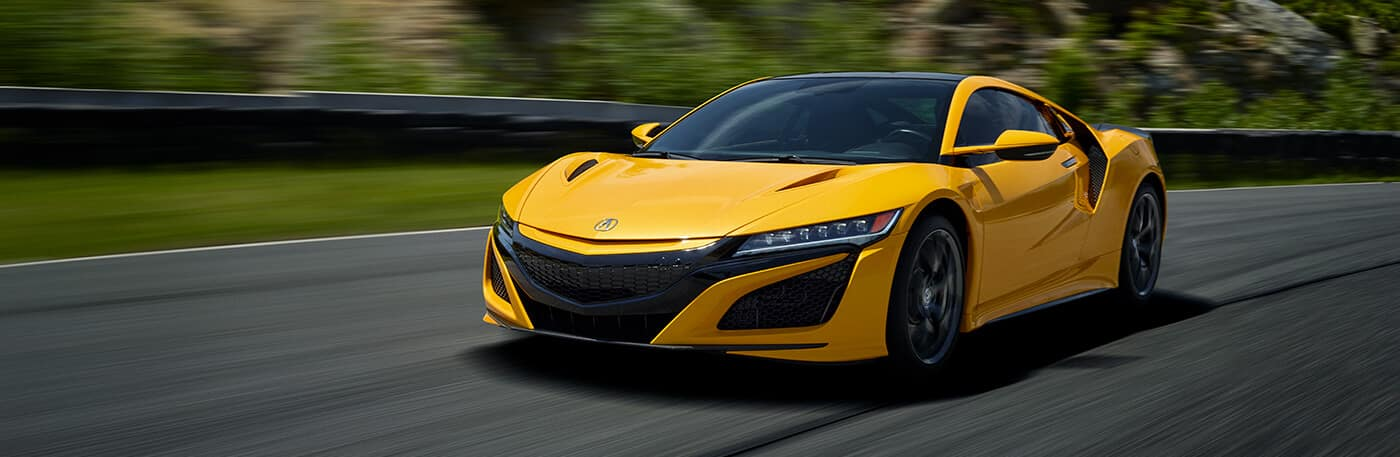 2020 Acura NSX Incentives Banner