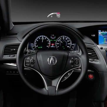 2017 Acura RLX Steering Wheel Features