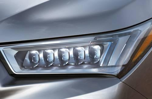 2017 Acura MDX Headlights