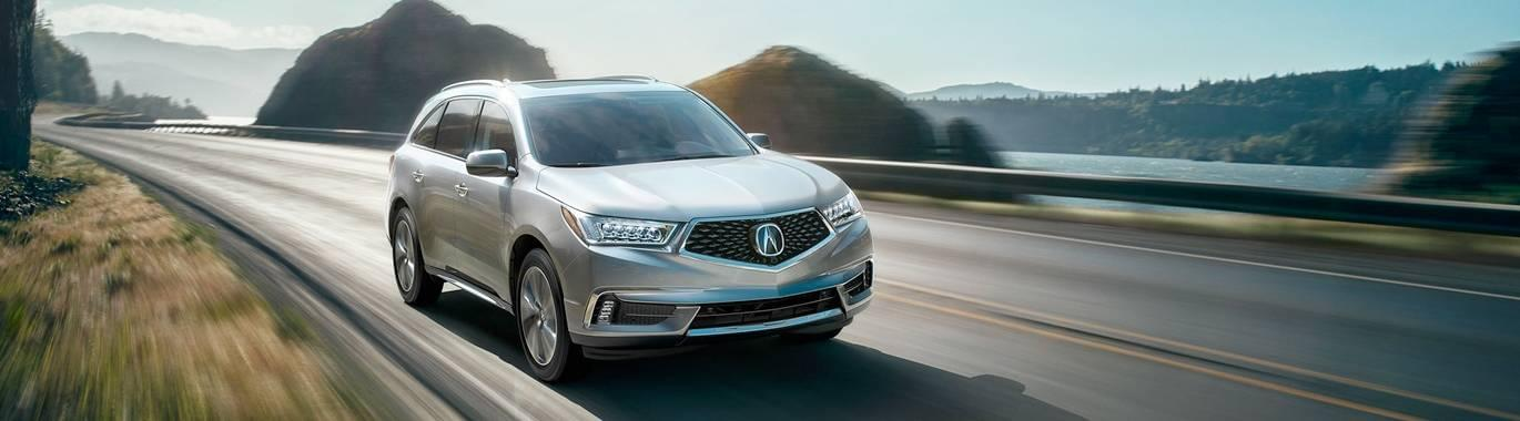 The New Acura MDX Vehicle Highlights Tischer Acura - Acura mdx replacement parts
