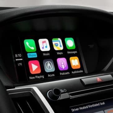 2018 Acura TLX interior technology features apple carplay