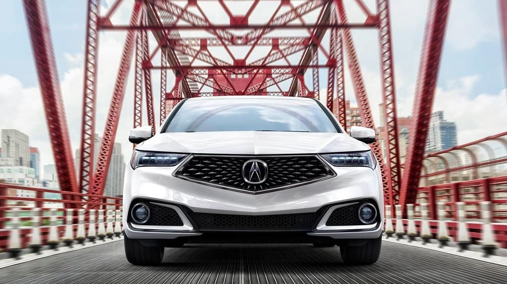 2018 Acura TLX front end view