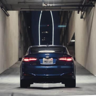 2018 Acura ILX rear end view