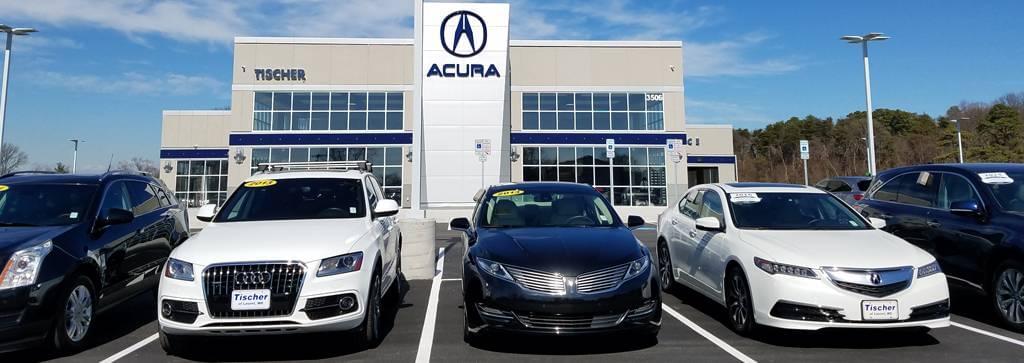 dealers acura nissan auto in md view tischer dealership cta laurel group