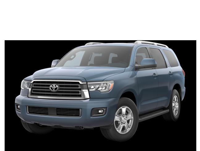 2018 Toyota Sequoia Blue