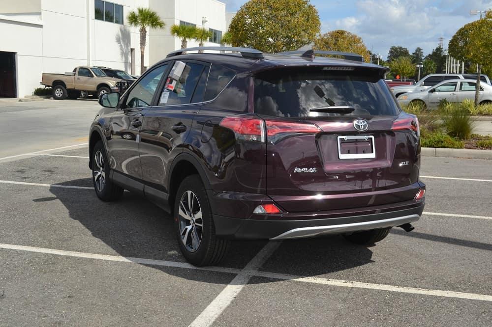 Toyota SUV near Orlando