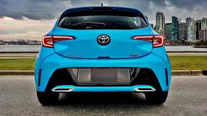 2019 Toyota Corolla hatchback at Toyota of Clermont