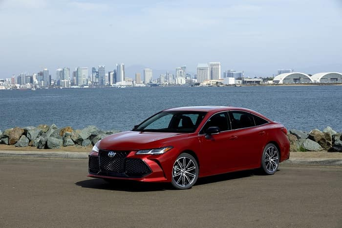 Toyota of Clermont luxury sedan