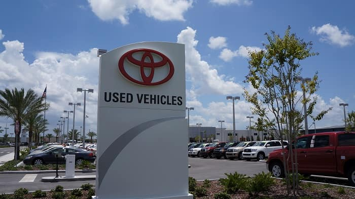 Used cars for sale at Toyota of Orlando