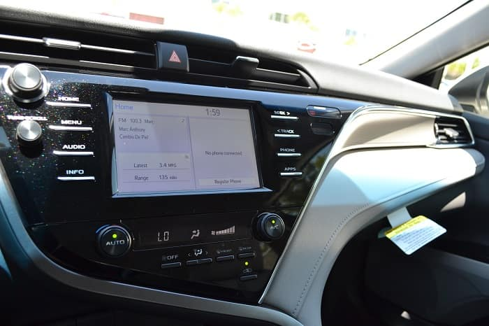 Clermont Toyota infotainment system