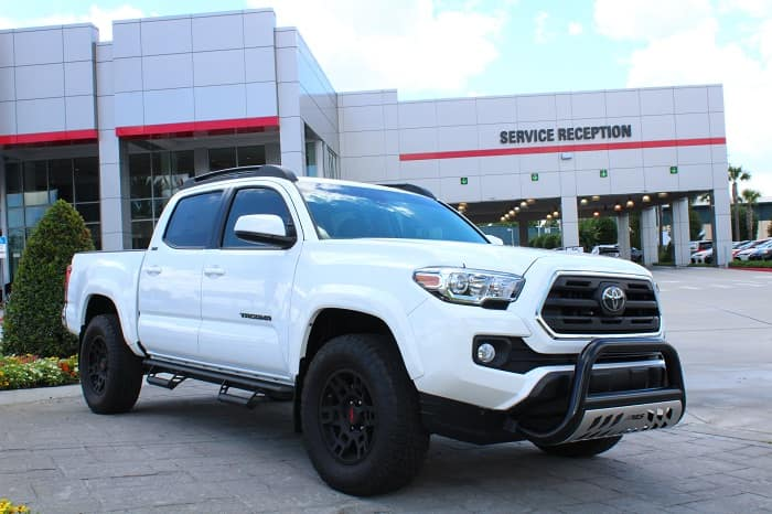 Clermont Toyota Tacoma pickup truck