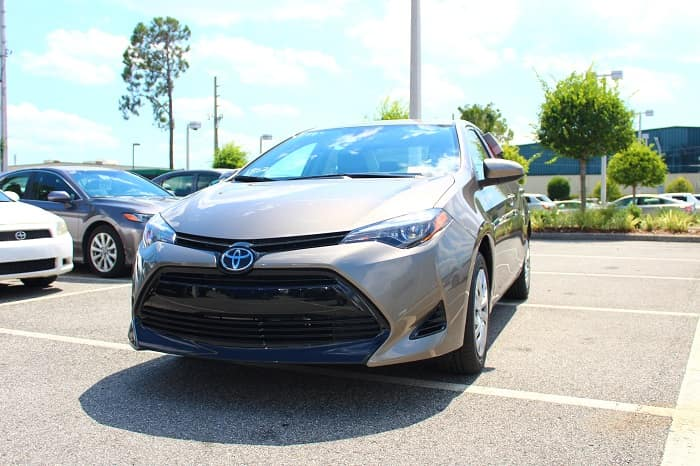 New 2019 Toyota Corolla for sale.
