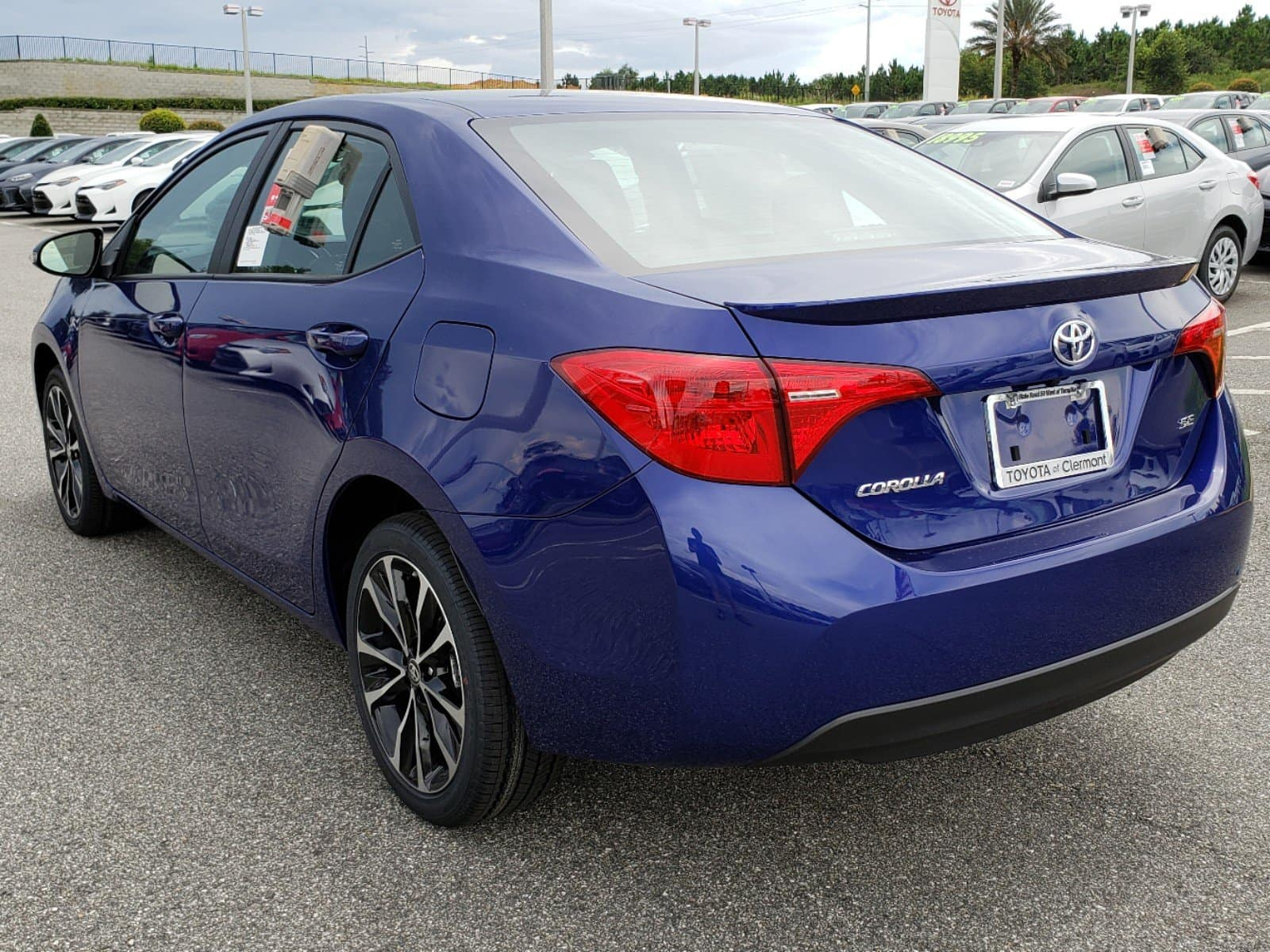 The Clermont Toyota Corolla.