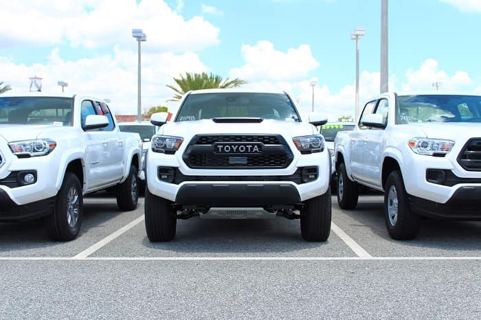 Go off-roading in the Clermont Toyota Tacoma