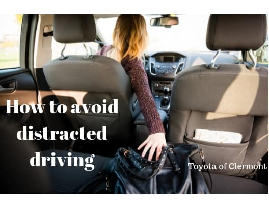 Avoid distracted driving with these tips from Toyota of Clermont.