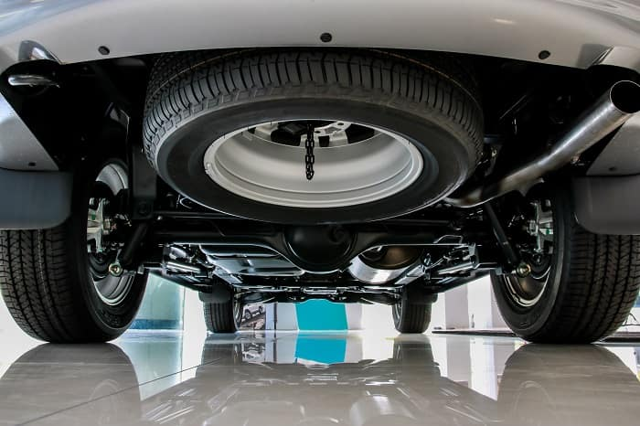 Check your spare car tire at Toyota of Clermont.