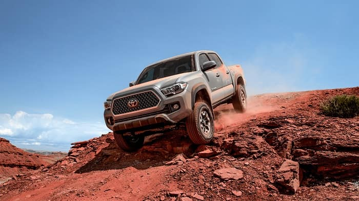 The new Toyota Tacoma is here at Toyota of Clermont.