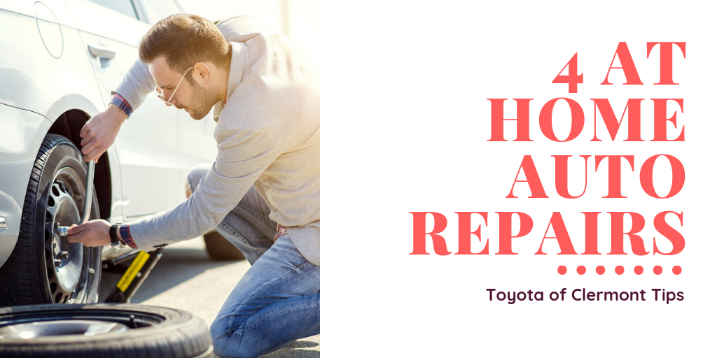 at home auto repairs