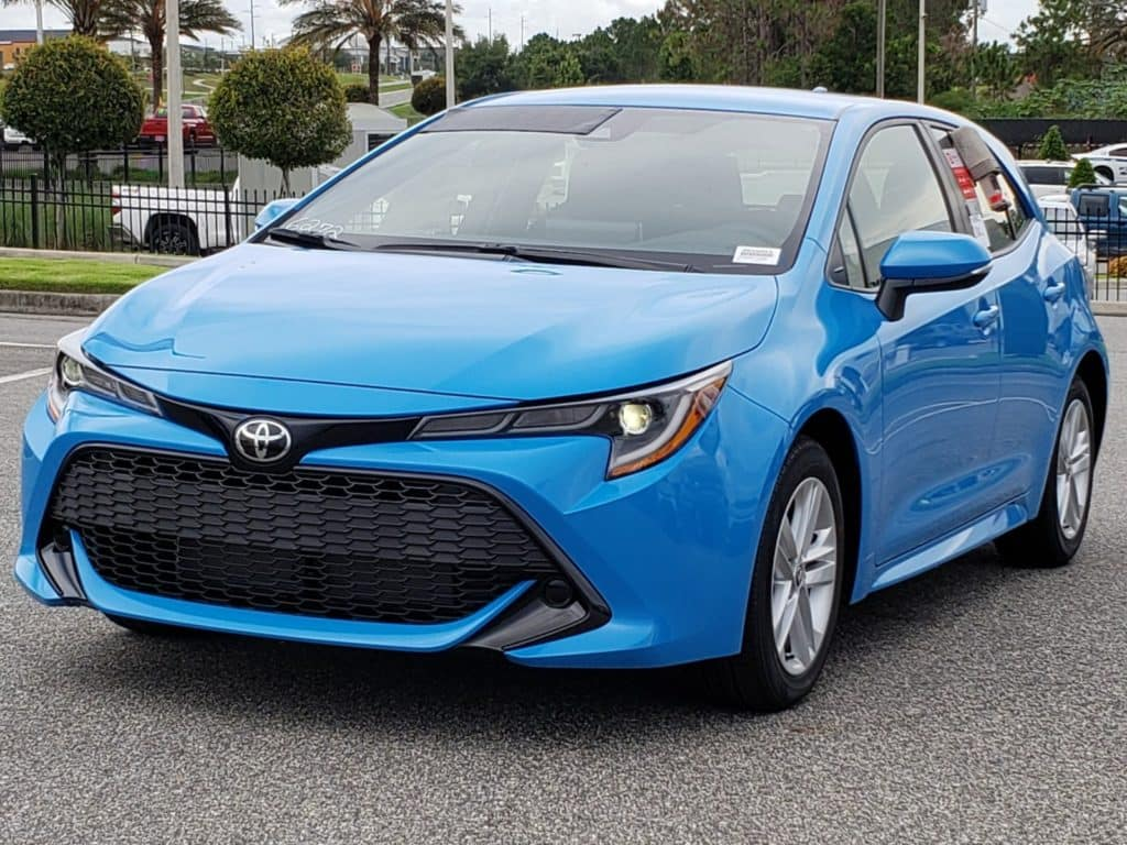 Explore the new Toyota Corolla Hatchback at Toyota of Clermont.