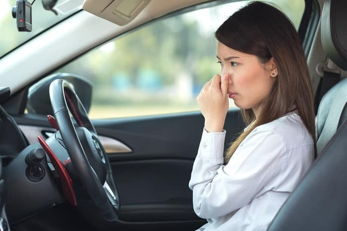 Deodorizing your car tips from Toyota of Clermont