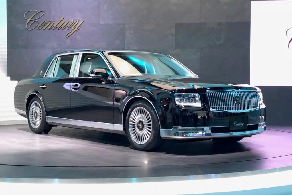 A Look at a Luxury Legend: The Toyota Century   Toyota of