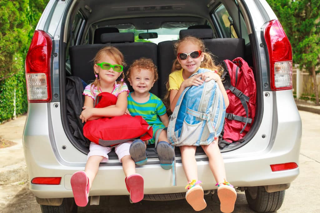 taking kids on a road trip