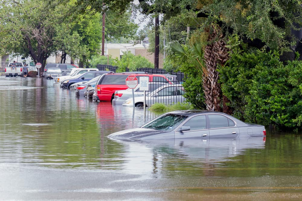 Toyota of Clermont car flood damage tips.