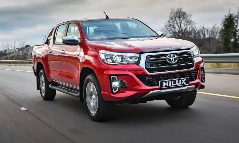 New Toyota Hilux not available in the US.