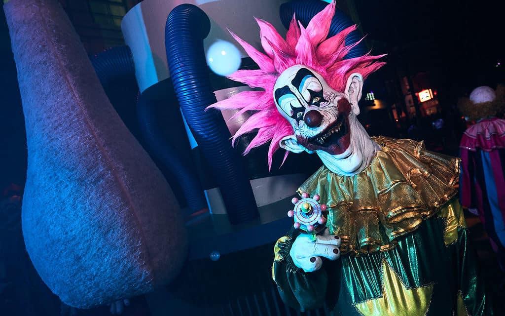 Killer Klowns Halloween Horror Nights