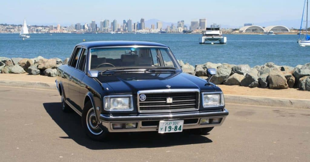 Clermont new Toyota Century available now.