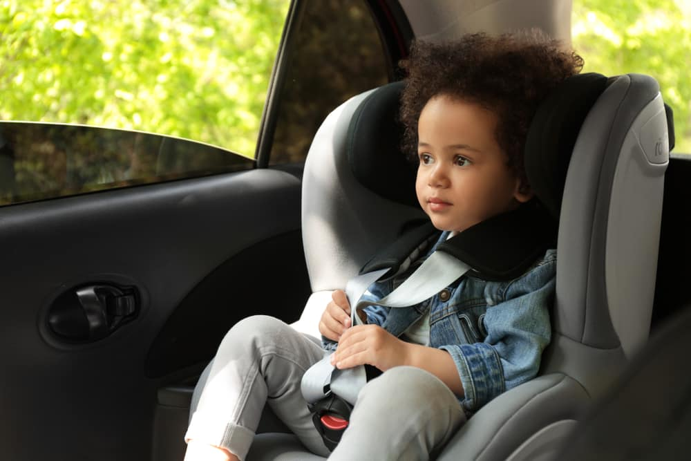 Child passenger safety tips from Toyota of Clermont.