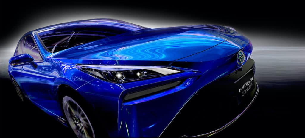 New Toyota Mirai available in Toyota of Clermont
