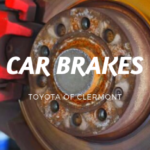 Information on car brakes from Toyota of Clermont